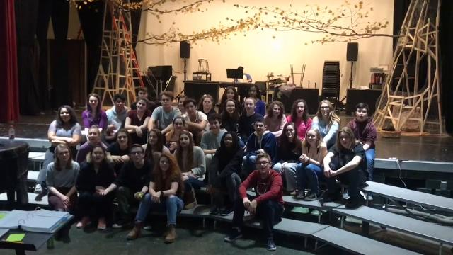 "The cast of ""Into the Woods"" at Valhalla sends a musical shoutout to Nanuet's ""Bye Bye Birdie."""
