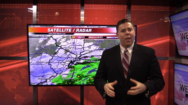 Video: FIOS forecast on the nor'easter for Westchester, Putnam and Rockland Counties for Wednesday commute