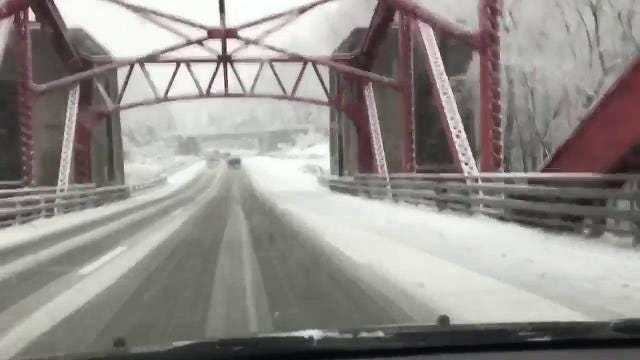 Video: Driving on the Taconic is treacherous