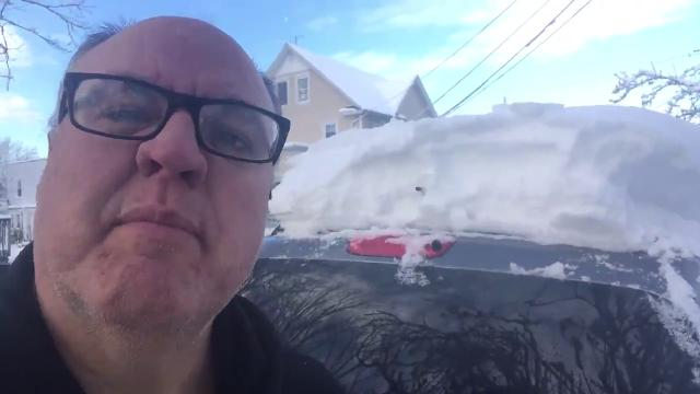 Video: How much snow?
