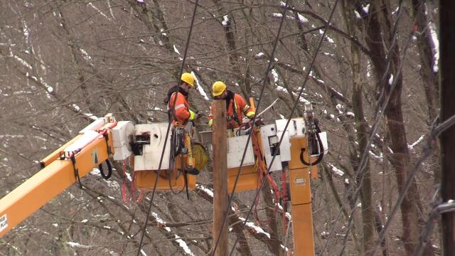 Video: Utility company from Canada helps out NYSEG