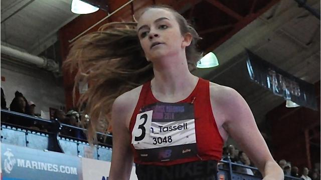 Locals competed at the New Balance Indoor Nationals at the Armory in New York on Friday, March 9th, 2018.