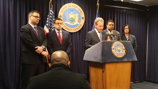 Video: Schneiderman announces corruption charges against Mount Vernon Mayor Thomas
