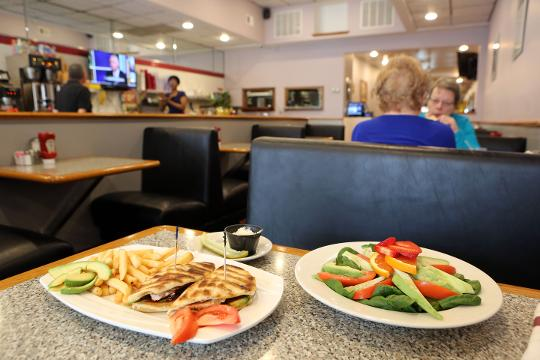A look at Yonkers Diner which got a revamped look and menu under new management March 12, 2018.