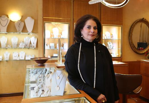 Lohud's Swapna Venugopal Ramaswamy interviews Varda Singer, owner of ICD Contemporary Jewelry in Chappaqua, March 13, 2018 as part of a women entrepreneur series.
