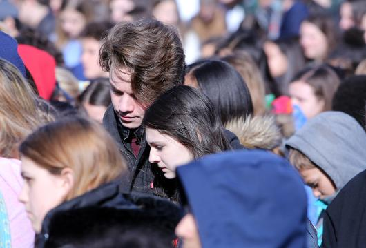 Video: National Student Walkout at Pleasantville High School