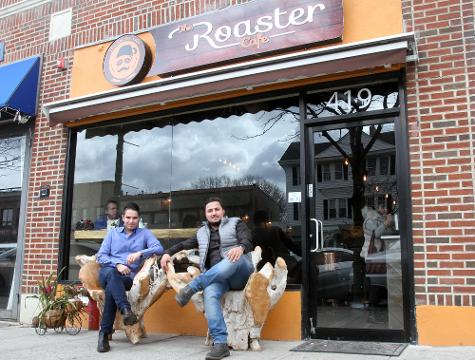The Roaster Cafe is a new business that has opened on Mamaroneck Ave in Mamaroneck March 14, 2108. Frank Becerra Jr./Lohud.