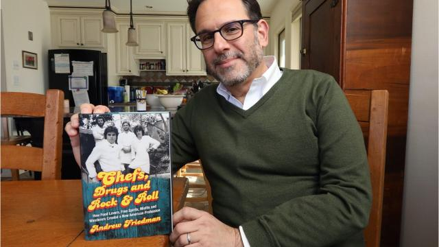 Hastings' author Andrew Friedman has written the definitive book on the rise of the American chef