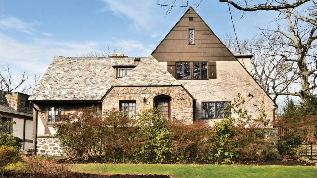 A 1929 Tudor built by early New York Yankees pitcher Waite Hoyt is on the market. Babe Ruth used a private basement entrance when visiting.