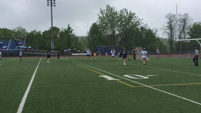 A quick video look at the Hen Hud-Pelham girls lacrosse playoff game