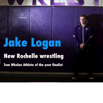 New Rochelle state champion wrestler Jake Logan is a finalist for the 2017-18 Tom Whelan Athlete of the Year award.