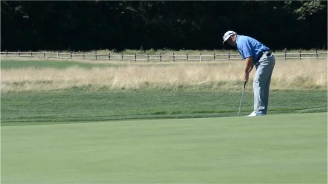Andrew Svoboda won the New York State Open at Bethpage Black with a 3-under total of 210. Video by Mike Dougherty/lohud.com