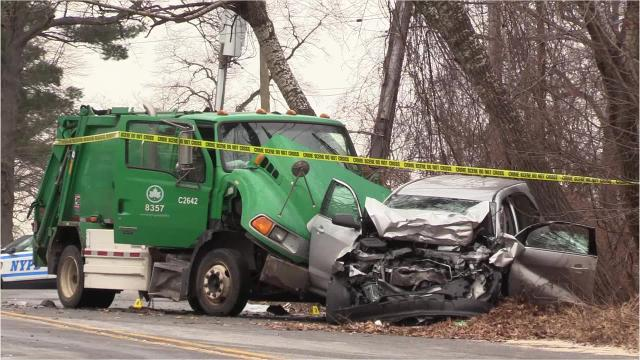 Brian Kessler of New Rochelle was returning from work Wednesday, Jan. 16, 2019, when he was killed in a head-on collision with a NYC Parks Department garbage truck in the Bronx. (FIOS 1 News)
