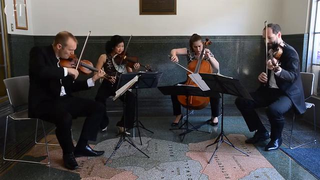 Jasper String Quartet performs 'Mendelssohn's Quartet'