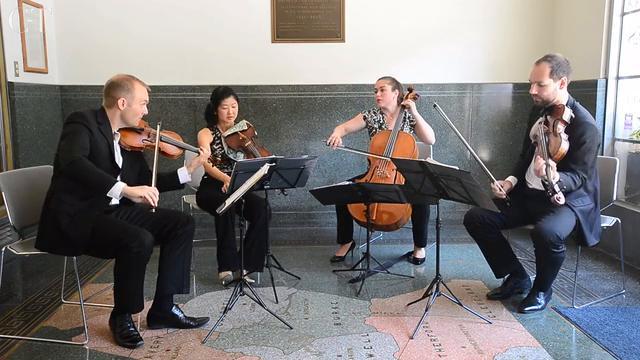Jasper String Quartet performs 'Valencia'