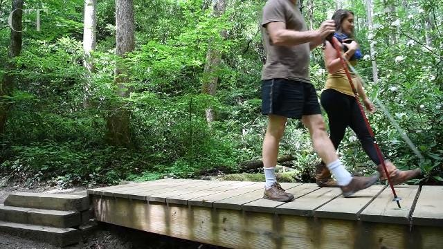 Ascend Adventure Wellness may be the first business of its kind offering a day of hiking in the Pisgah National Forest followed by an outdoor massage and spa treatments.