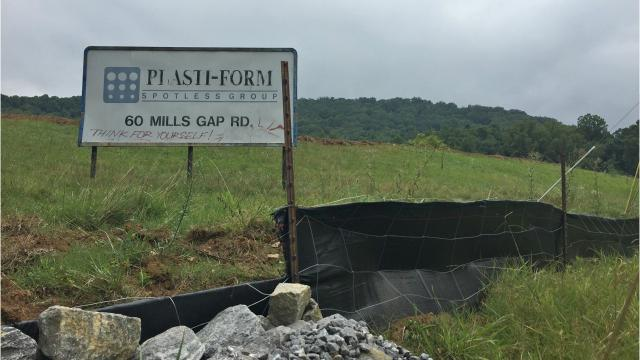 Developer Rusty Pulliam is building a 272-unit apartment complex at 60 Mills Gap Road in South Asheville. The project is expected to be completed sometime in 2019.