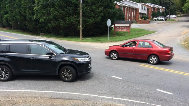 A readers asks if the DOT could add left turn lanes on Sweeten Creek Road, which is prone to congestion.