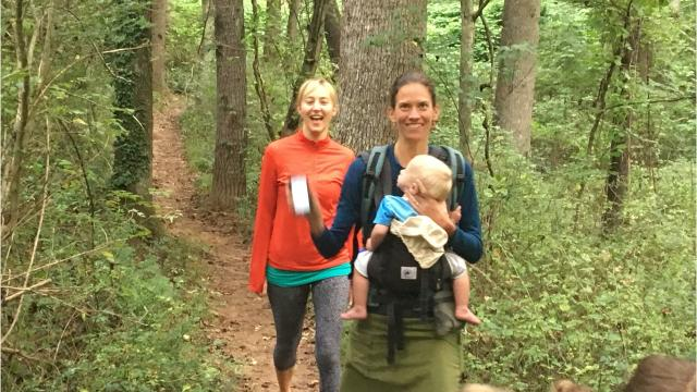 More than 1,200 hikers took part in the MST in a Day event Sept. 9, hiking every section of the 1,175-mile Mountains-to-Sea Trail on its 40th birthday.