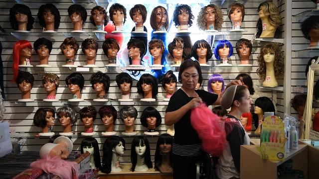 After standing on the corner of Haywood Street and Battery Park Avenue downtown for almost 45 years Kim's Wig Center will close it's doors before the end of the year.