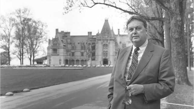 William A V  Cecil, owner and visionary of the Biltmore Estate, has died