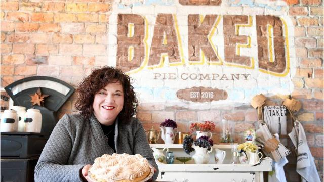 Thanks to modern whimsy and warm nostalgia, Kirsten Fuchs' Baked Pie Company has soared in popularity. So much so that there are plans to open a second location and expand the current one.
