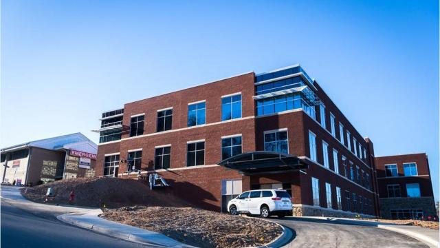 Take a tour of the new McDowell Hospital, which opens in February in Marion.