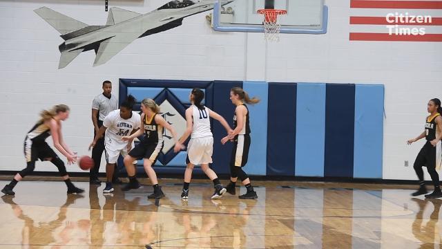 Enka hosted Tuscola in girls basketball on Friday, Jan. 12, 2018.