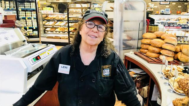 Readers ask for an update on former Asheville Mayor Leni Sitnick, who works for a grocery store now, and why food from stores' hot bars is thrown away instead of donated to food banks or shelters.