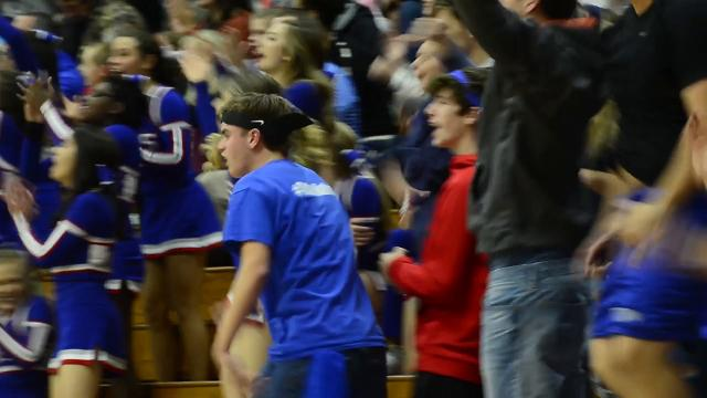 McDowell high school's basketball game against Freedom