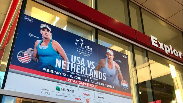 Will Fed Cup tennis event break U.S. Cellular attendance record?