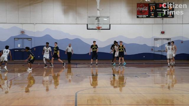 Asheville Christian Academy defeated Asheville School 78-61 February 2, 2018.