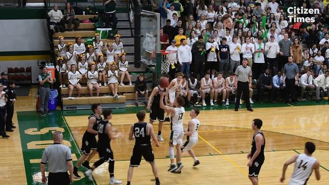 Reynolds hosted North Buncombe in boys basketball Friday, Feb. 2, 2018.