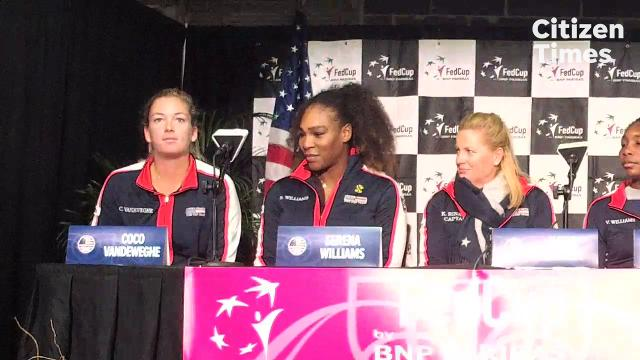 Fed Cup 2018: post-draw press conference