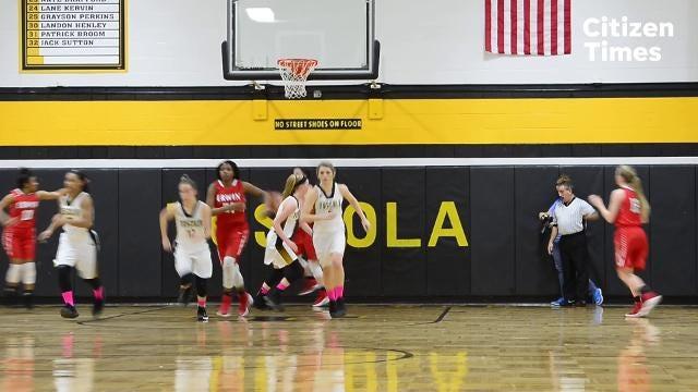 Erwin's basketball game at Tuscola