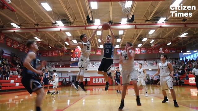 North Buncombe and Enka faced off in a WMAC semifinal game at Erwin High School on Wednesday, Feb. 14, 2018.