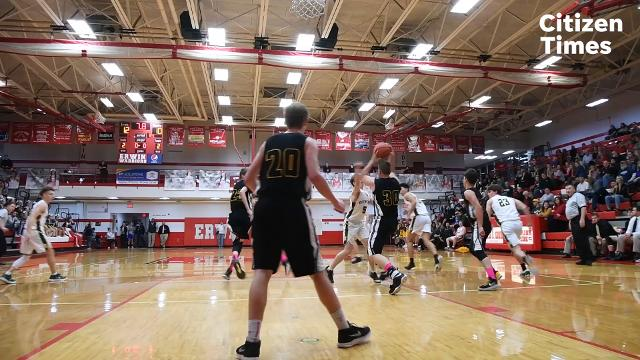 Reynolds and Tuscola faced off in a WMAC semifinal game at Erwin High School on Wednesday, Feb. 14, 2018.