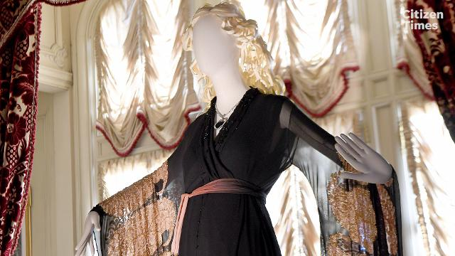"The ""Glamour on Board: Fashion from Titanic the Movie"" exhibit is on display now at the Biltmore House."