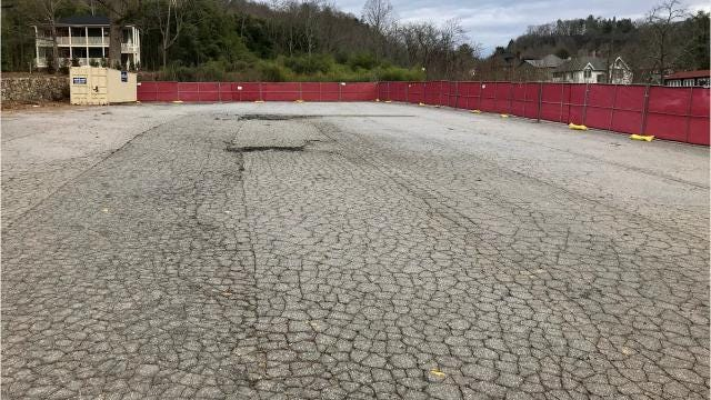 A reader wants to know if new construction is going up on property on Charlotte Street that once was home to an Ingles supermarket.
