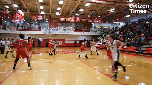Erwin took on Tuscola in the WMAC girls championship game on Friday, Feb. 16, 2018.