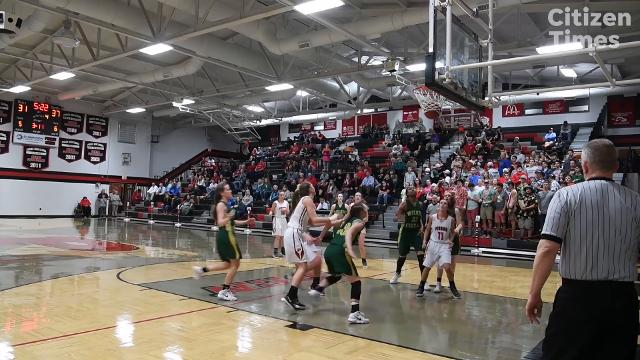 Wilkes Central defeated Pisgah 49-36 in Canton February 20, 2018 in the first round of playoffs.