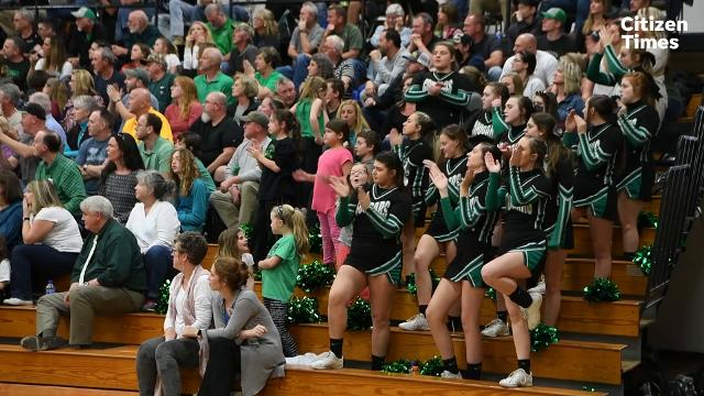 Mountain Heritage took on Salisbury in the fourth round of the NCHSAA 2A playoffs at Mountain Heritage High School on Tuesday, Feb. 27, 2018.