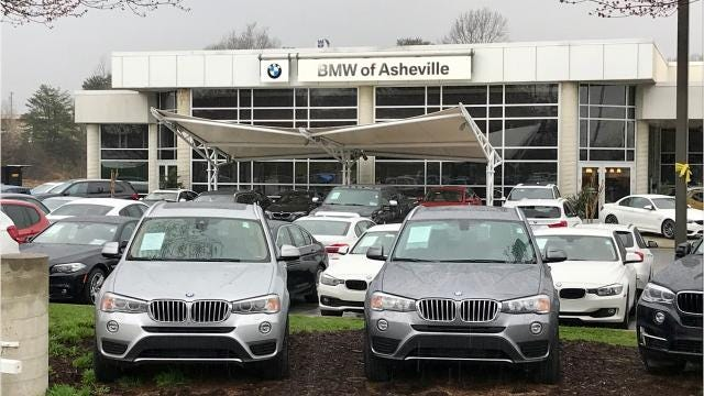 A reader asks if BMW of Asheville still plans to move to a new location off Long Shoals Road.