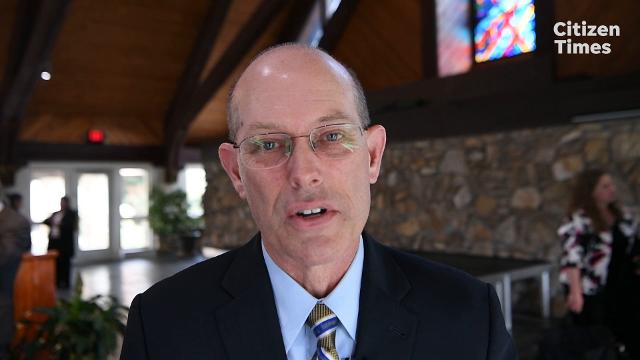 "The new president of Mars Hill University John Anthony ""Tony"" Floyd talks about what drew him to the area."
