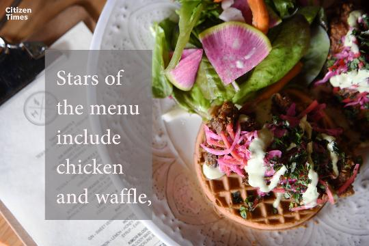 A new restaurant has opened in West Asheville.
