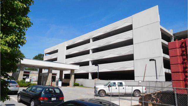 Less long-term parking at Asheville Regional Airport?