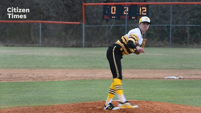 Rosman hosted Murphy in baseball on Friday, March 16, 2018.