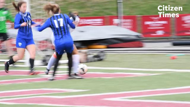 Asheville girls soccer game against Smoky Mountain Friday, March 23, 2018. Asheville defeated Smoky Mountain 5-0.