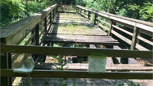 Botanical Gardens at Asheville comprise 10 acres, 650 species