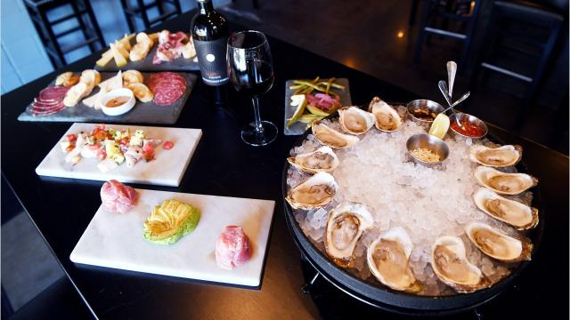 Dining reviewer Matthew DeRobertis visited the Wine & Oyster at Biltmore Station.